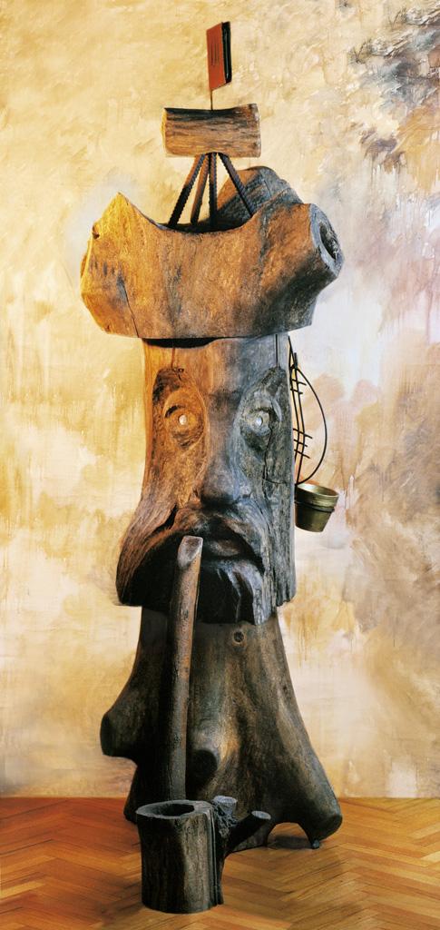 Idol (Holz) 1996 1700x500x800