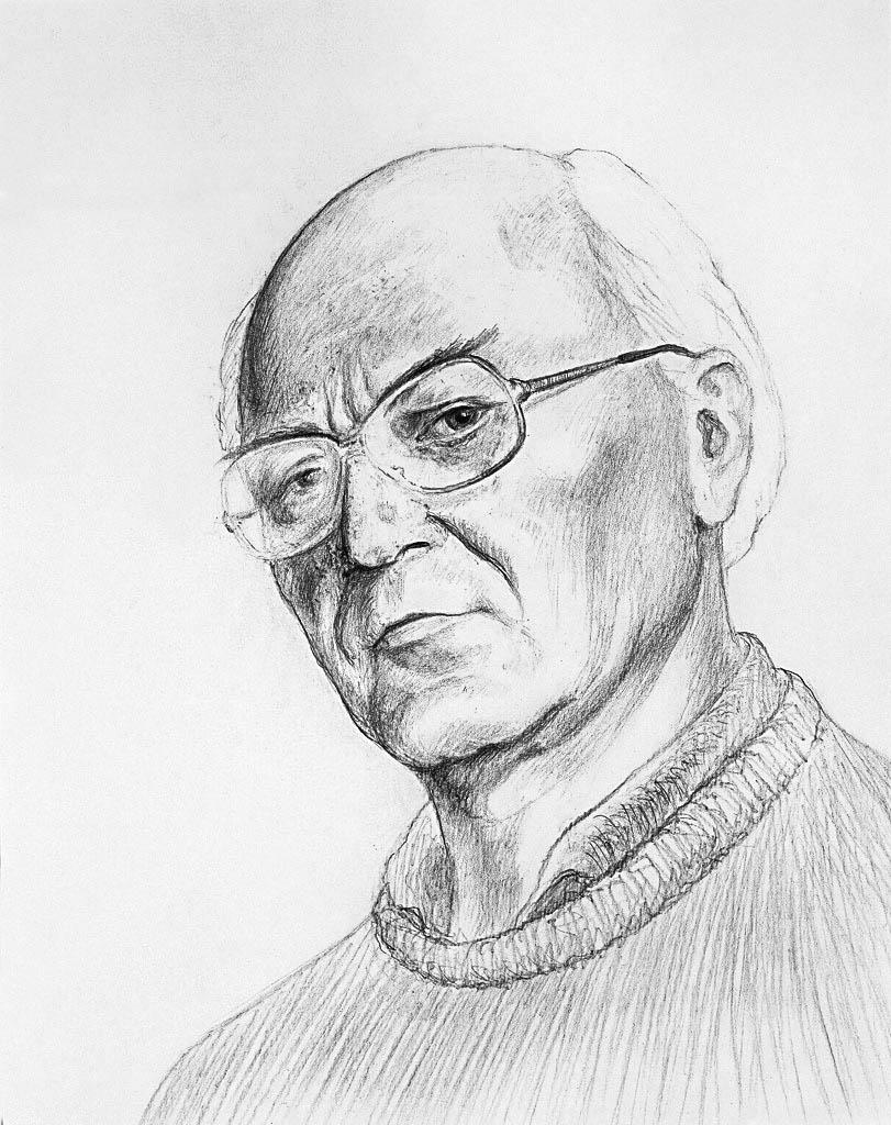 Self Portrait (Pencil)  400 x 300