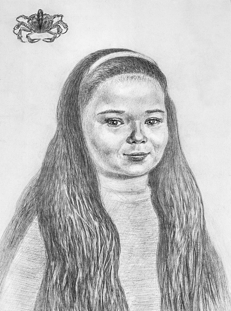Diana (Pencil)  400 x 300