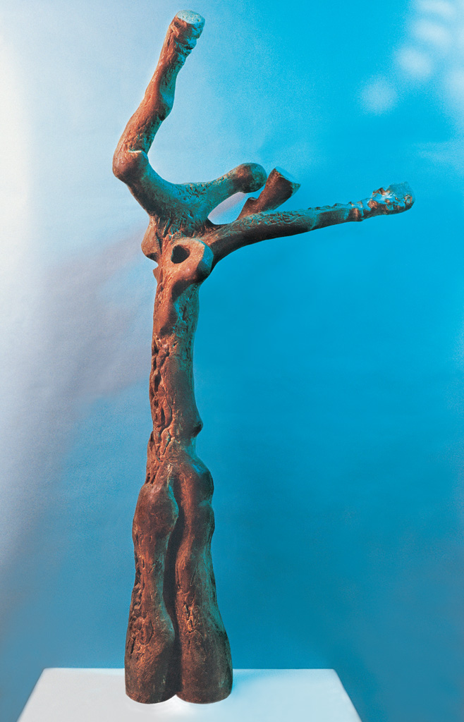Sorrow tree. In memory of V. Harra 1975  1100x650x300