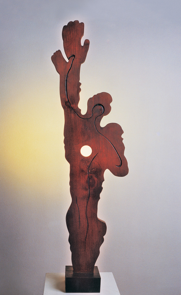 Man and shadow 1975