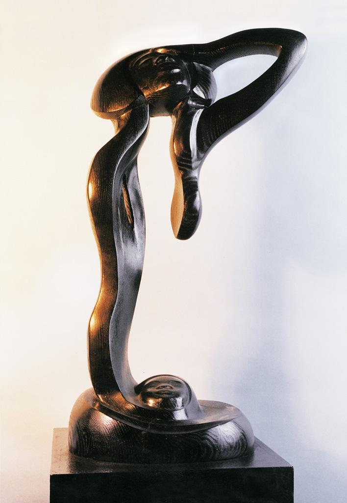 La Virgen negra 500x300x180 1980