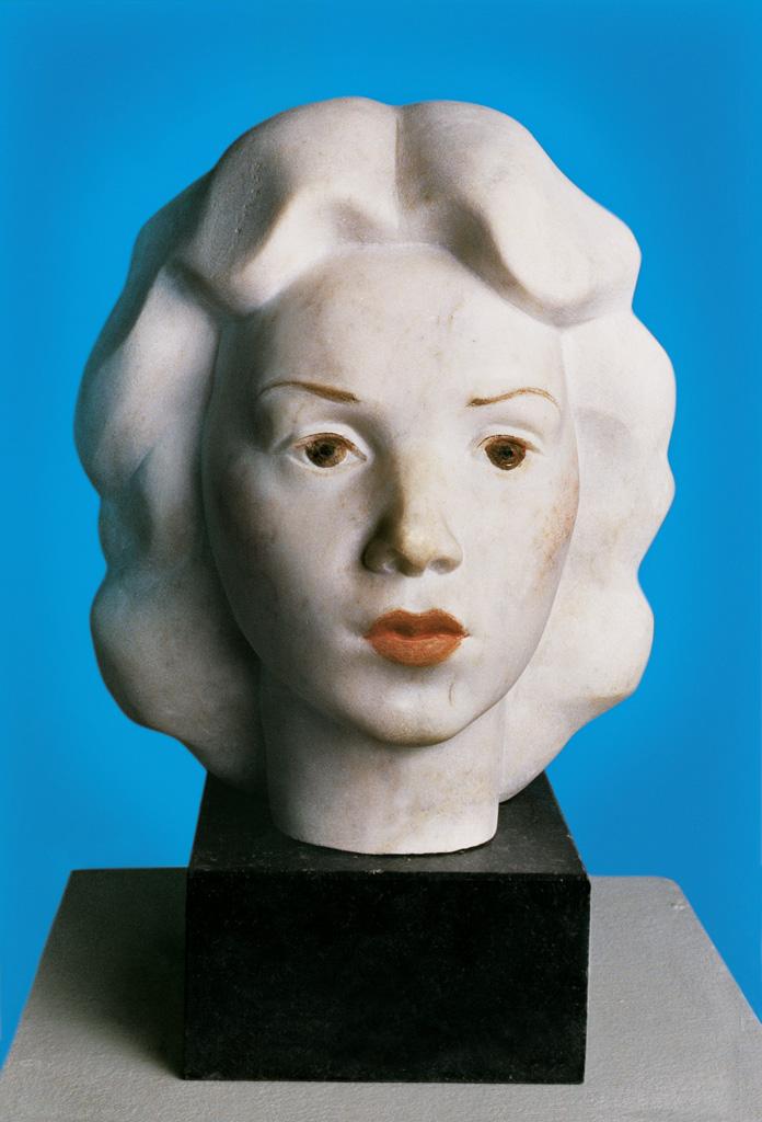 Woman's head 1981 330x250x300