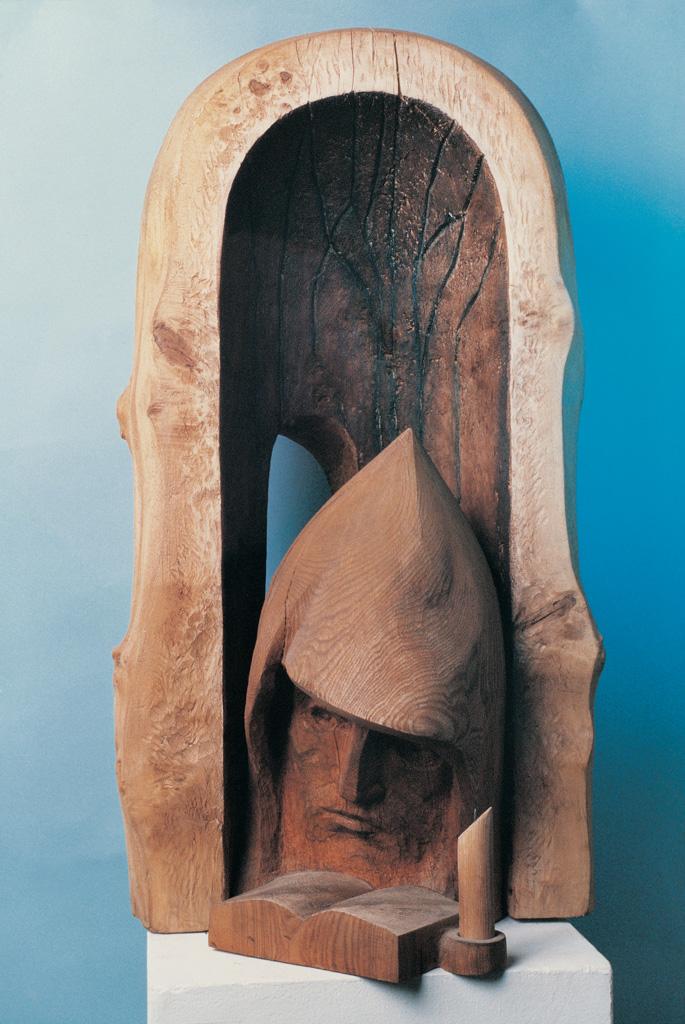 Mönch (Holz) 1992 750x400x650
