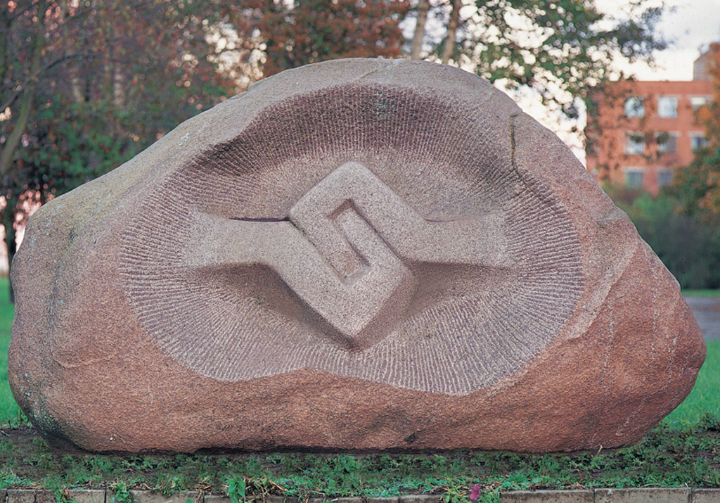 Monument of friendship between Estonia and Finland 1982