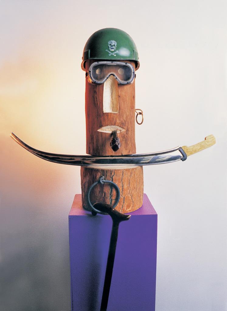 Osman Pacha (bois) 1995  700x700x250