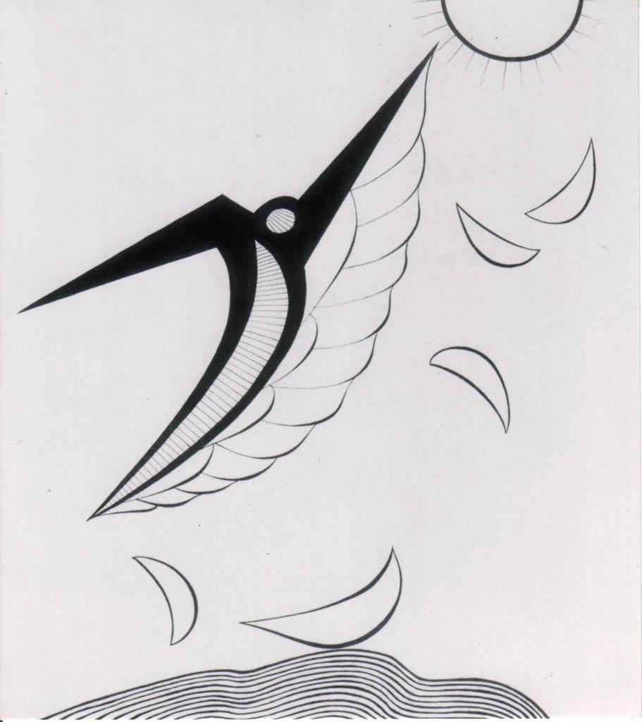 Ikarus (Ink)  700 x 600