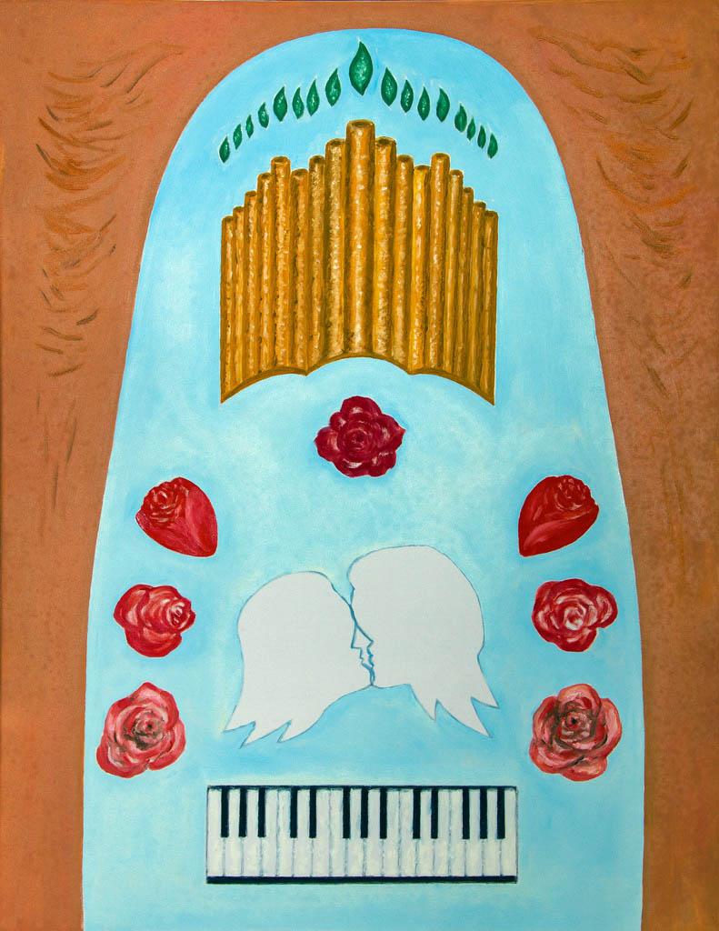 Eternal love (canvas, oil) 700х500