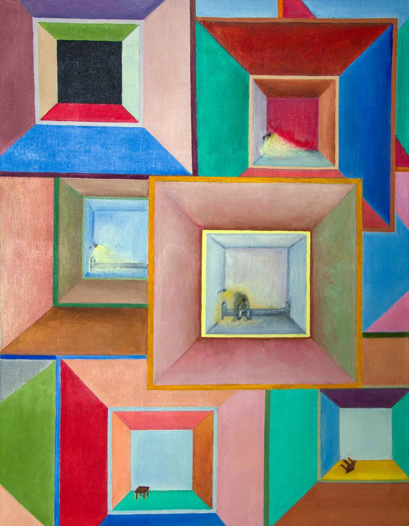 Loneliness (canvas, oil) 530х700