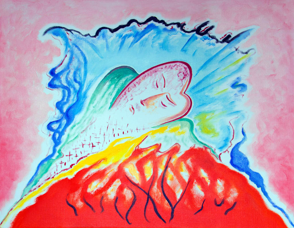 The soul knows no rest (canvas, oil) 600х500