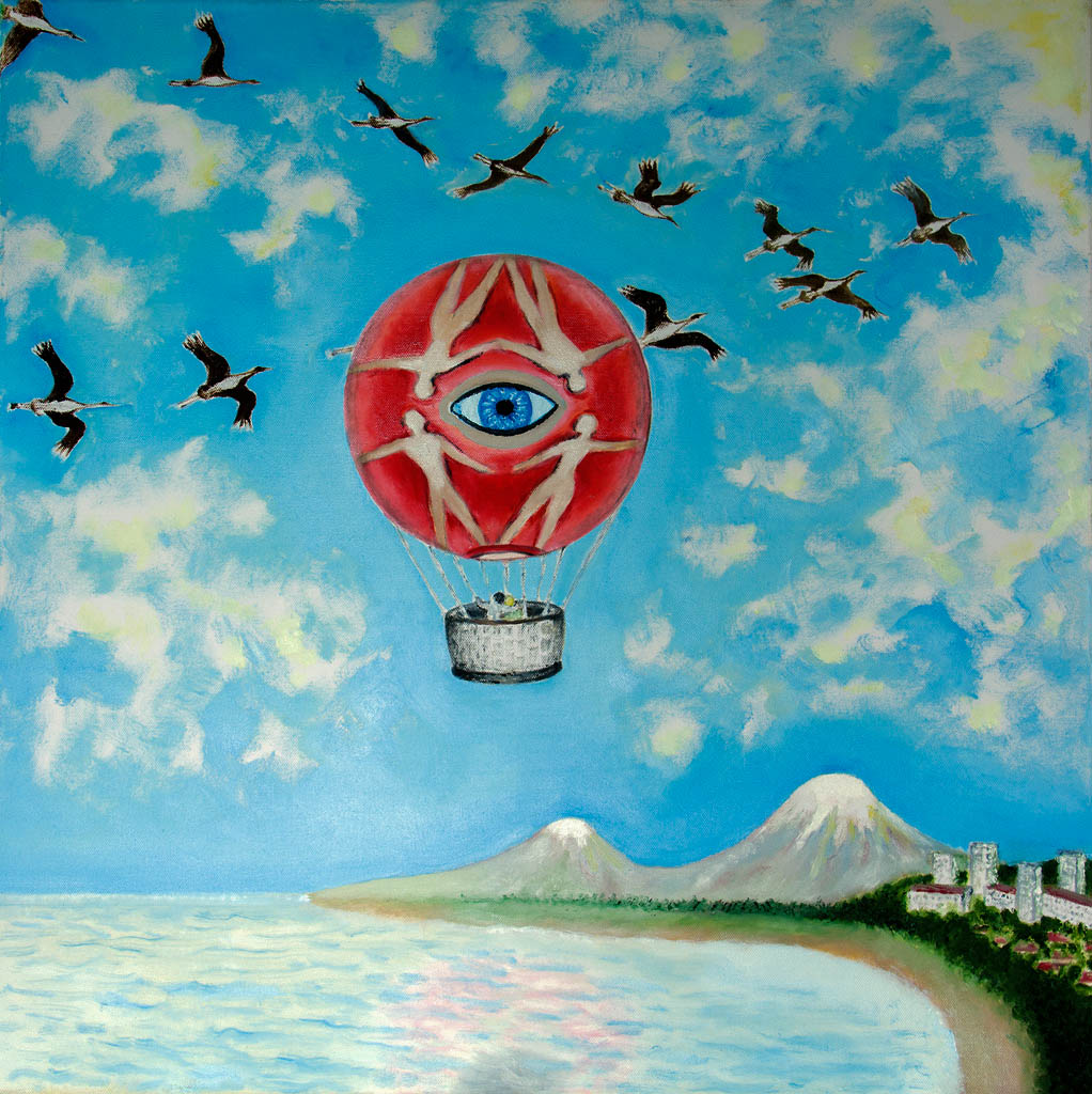 Air navigation (canvas, oil) 550х550