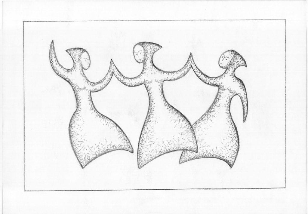 Tanzende Nymphen