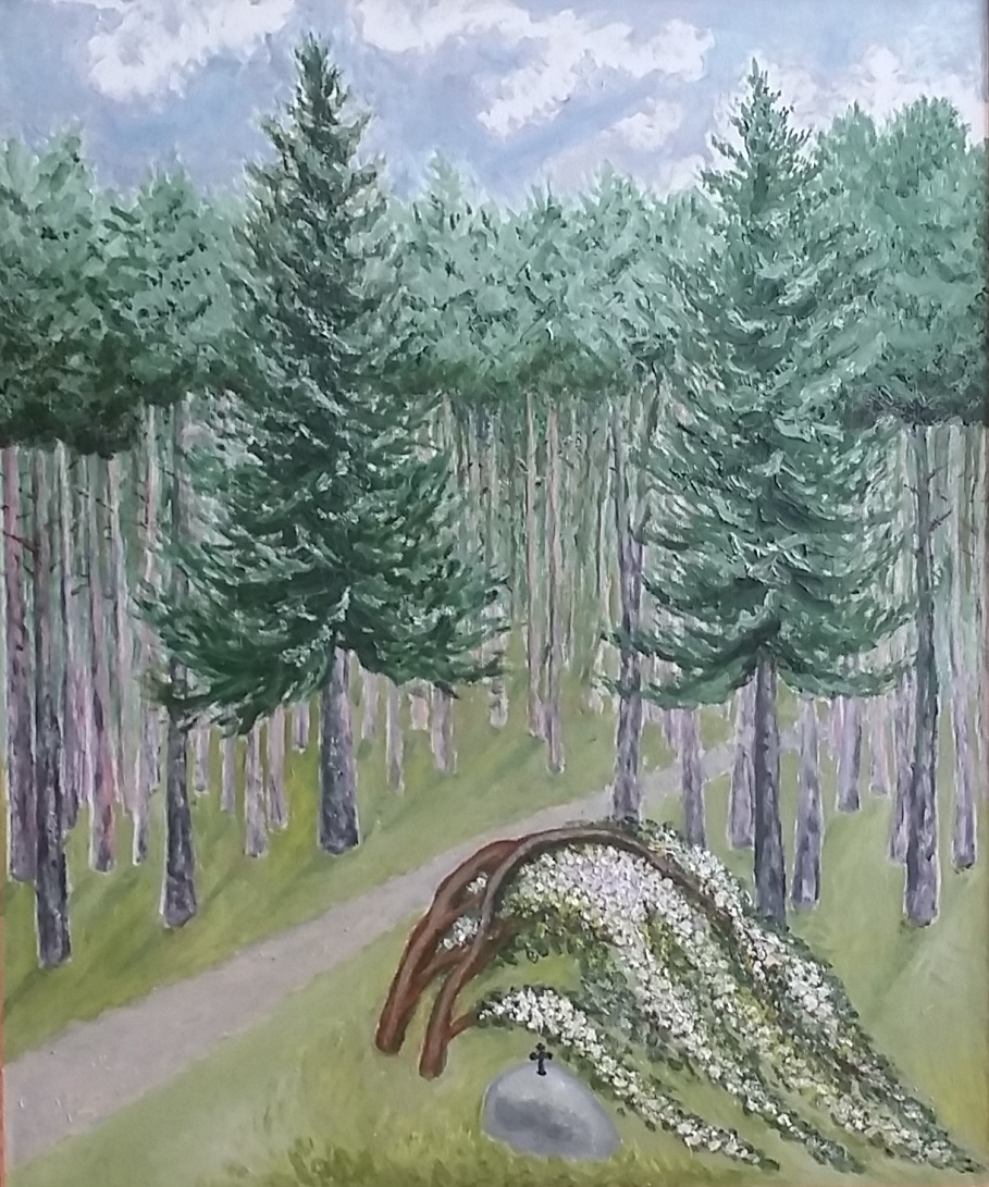 Forest (Canvas, oil)
