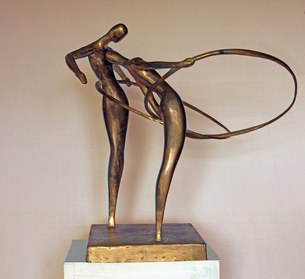 Hoola-Hopp (bronze)